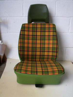 Please Note That Some Fabrics May Fade In Strong Sunlight We Can Recover Seats With The Original Westfalia ClothPlease Check For Prices
